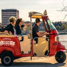 Discover Budapest by three wheels